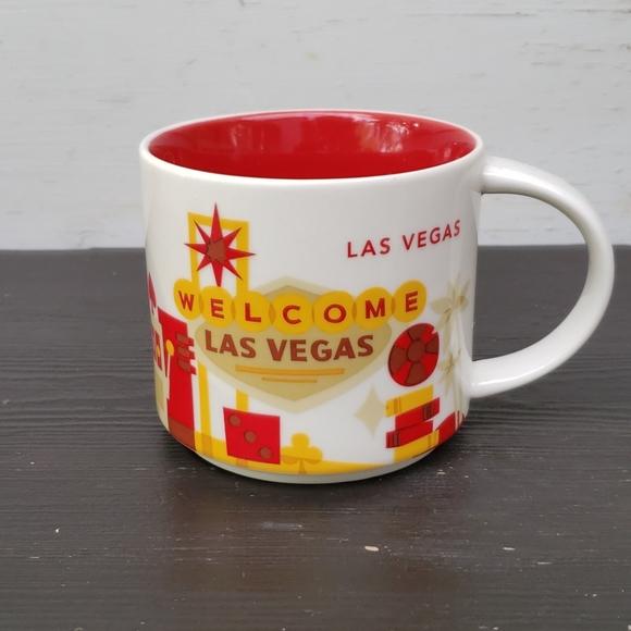 Starbucks You Here Las Vegas Mug Cup